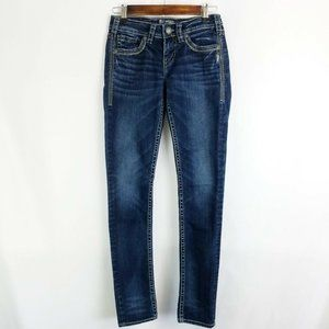 Silver Jeans Aiko Skinny Jeans
